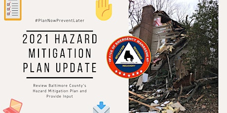 Baltimore County Hazard Mitigation Community Meeting #2 tickets