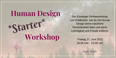 Human Design Starter Workshop Tickets