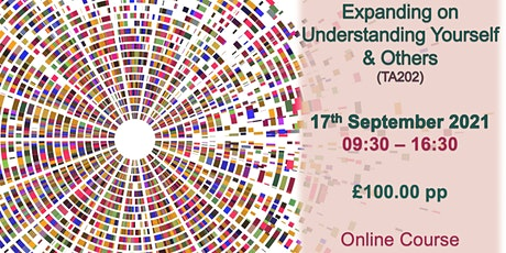 Expanding on Understanding Yourself and Others (TA202) tickets