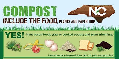 Backyard Composting Online Class tickets