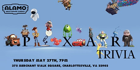 Disney Pixar Movie Trivia at Alamo Drafthouse Charlottesville tickets