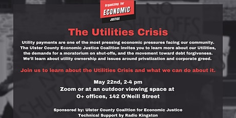 The Utilities Crisis in Ulster - Ulster Economic Justice tickets