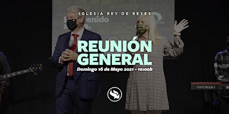 Reunión general - 16/05/21 - 10:00h tickets
