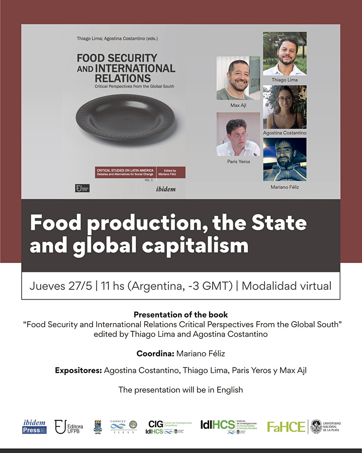 Food production, the State and global capitalism image
