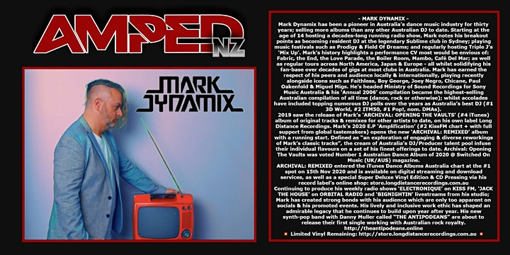Amped NZ - HIGH DOSAGE, JODY 6 & MARK DYNAMIX image