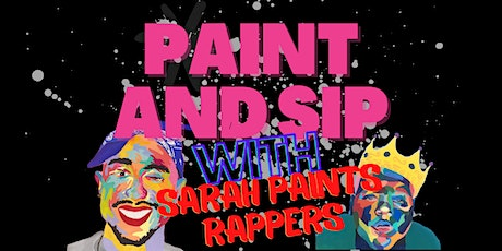 Rappers Paint and Sip @ Jake's Tavern w/ Sarah Paints Rappers tickets