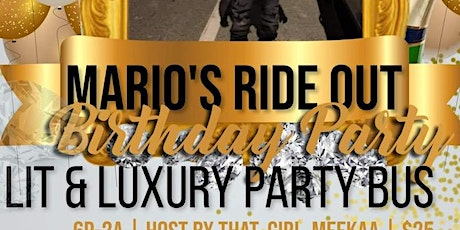 Mario's Ride Out tickets