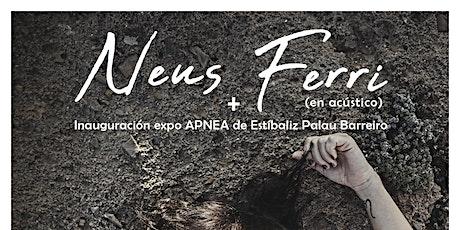 """Neus Ferri + Expo """"Apnea"""" en El Volander (PASE 2) entradas"""