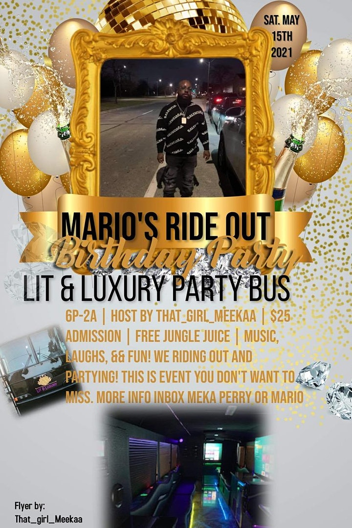Mario's Ride Out image