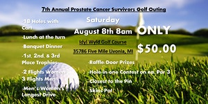 7th Annual Prostate Cancer Survivors Golf Outing