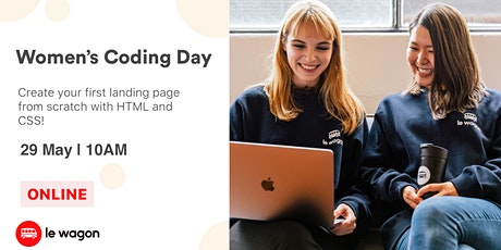 Women's Coding Day - Learn to code for free in May! tickets