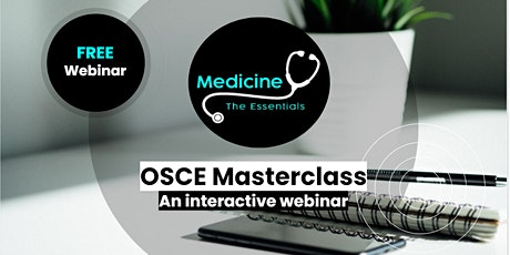 The Essentials OSCE Masterclass 13: Data interpretation - CTs and bloods tickets