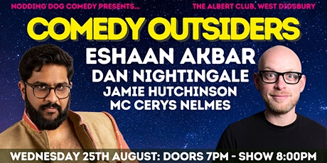 Comedy Outsiders @ The Albert Club tickets