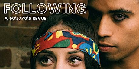 Following - Theatre Blacks Term 2 Showcase tickets