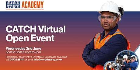 CATCH Virtual Open Event - June tickets