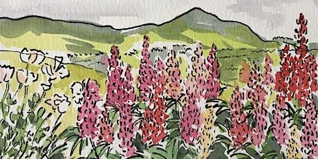 Watercolour workshop – Pen, ink & watercolour tickets