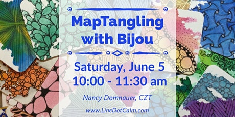 Zentangle® MapTangling with Bijou June 5 tickets