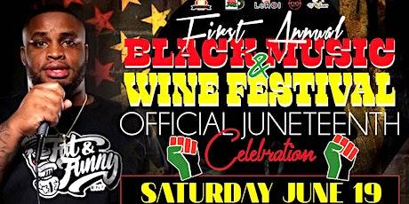 Black Music & Wine Festival tickets