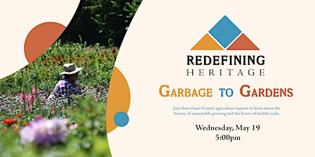 Redefining Heritage: Garbage to Gardens tickets