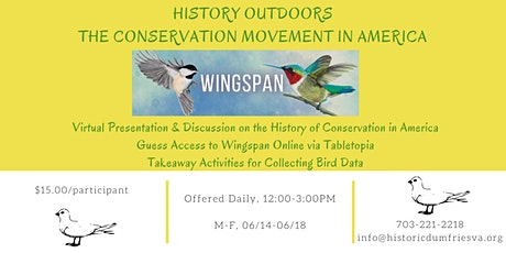 History Outdoors: The Conservation Movement in America tickets