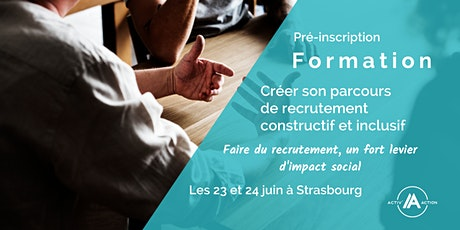 Pré-inscription formation | Le recrutement constructif et inclusif tickets
