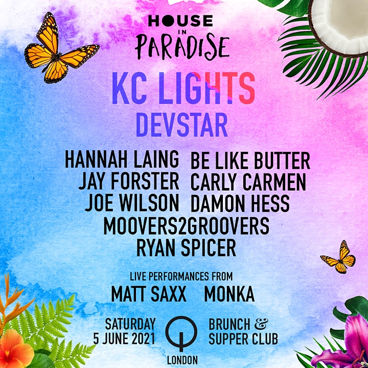 House in Paradise - Brunch & Supper Club image