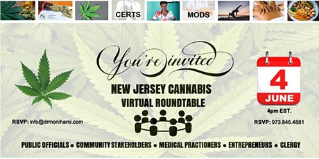 NJ Cannabis Virtual Roundtable tickets
