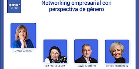 Networking empresarial con perspectiva de género boletos