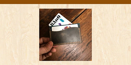 101 | CUIR  : Porte-cartes minimaliste billets
