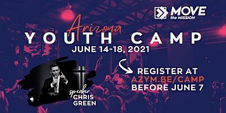 2021 AZ Senior Camp Registration tickets