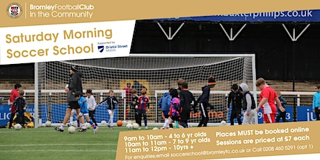 Saturday Morning Soccer School: April-July 2021 tickets