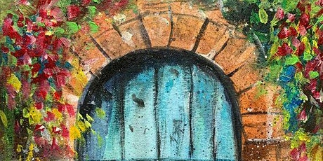 Paint and Sip at Home 'Blue Door' tickets