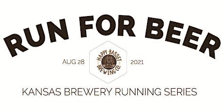 Beer Run - Happy Basset Brewing Co | 2021 Kansas Brewery Running Series tickets