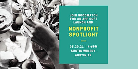 GoodMatch Soft-Launch and Non-Profit Spotlight Preview tickets