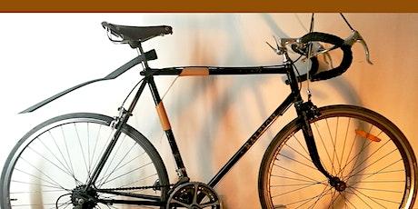 101 | CUIR  : Sangle porte-vélo billets