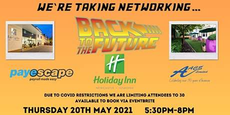 Back to the Future Networking tickets