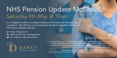 NHS Pensions McCloud Webinar biglietti