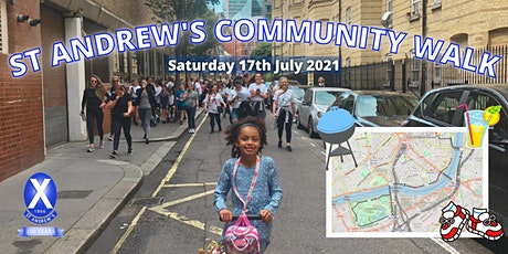 St Andrew's Club Community Walk 2021 tickets
