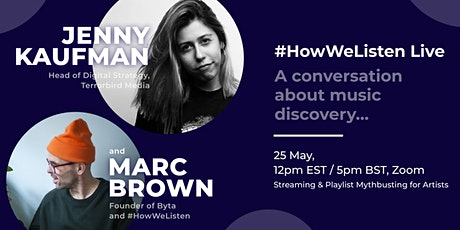 #HowWeListen Live: In Conversation with Jenny Kaufman tickets