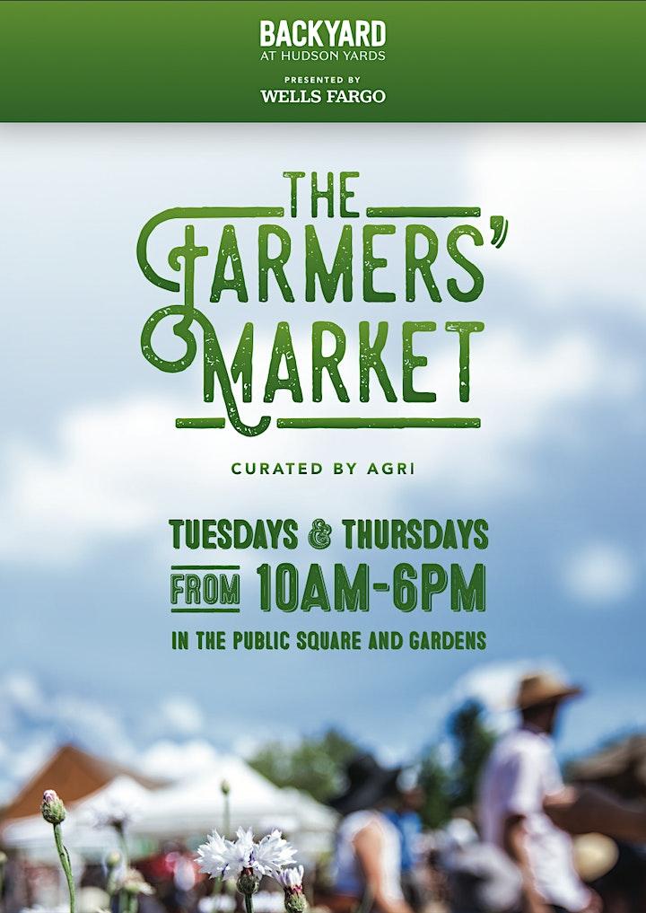 The Farmer's Market at the Backyard at Hudson Yards image