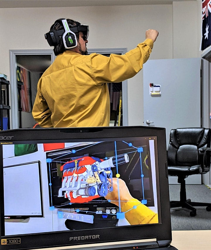 Virtual Open House - Composites Training in Augmented Reality image