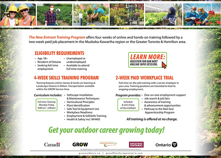GROW New Entrant Program Participant Information Session image