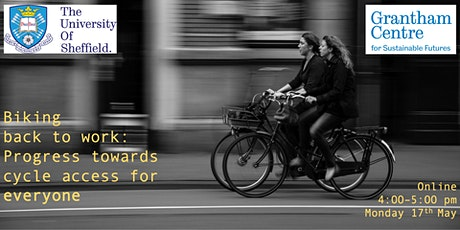 Biking back to work: Progress towards cycle access for everyone tickets