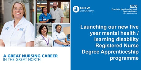 Registered Nurse Degree Apprenticeship: Virtual Q&A Event with CNTW Academy tickets