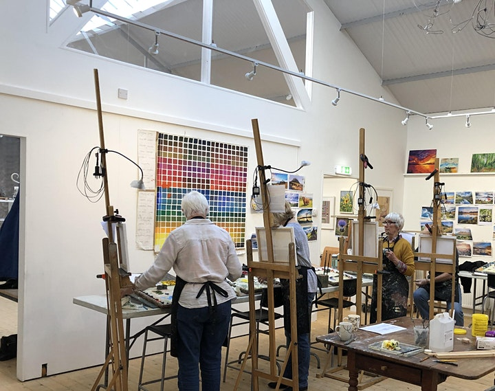 Painting & Drawing workshop with Ewen Duncan image
