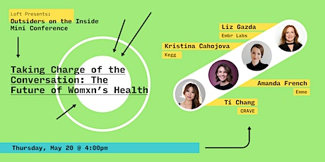 Taking Charge of the Conversation: The Future of Womxn's Health tickets