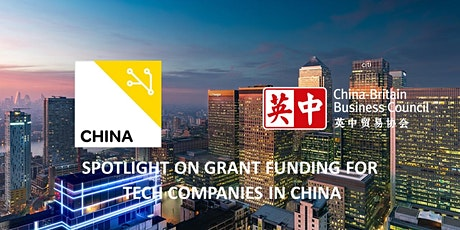 Spotlight on Grant Funding for Tech companies in China tickets