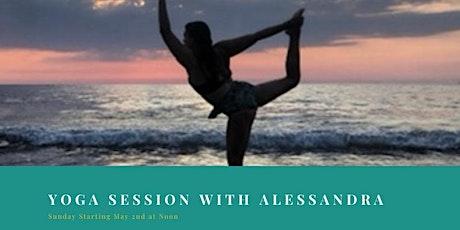 Virtual Yoga with Alessandra tickets
