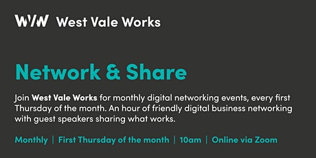 West Vale Works - Network & Share tickets