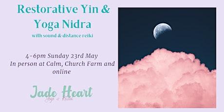 Restorative Yin & Yoga Nidra tickets